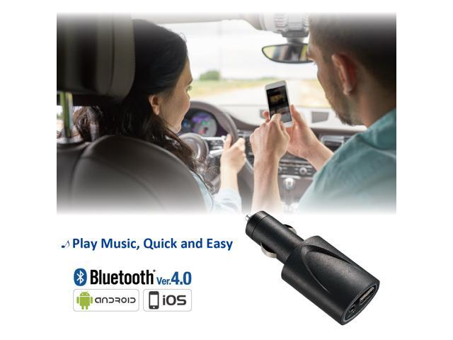 BTR-5300 (Linx Music) -- Bluetooth Music Receiver with premium quality sound  & Mobil Device Charger.   Simple way to transform your car audio system to Bluetooth wireless system.