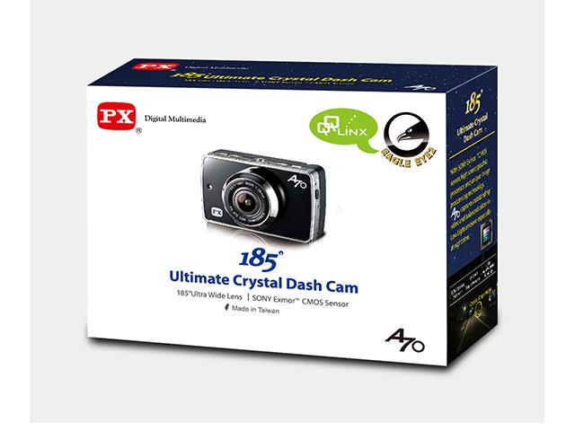 QQLinx Eagle Eye 2(U.S)/Eagle Eye(Canada)  Full HD 1080P Dash Cam with 16GB/8GB SD Card – 185° FOV,  2nd generation Hit & Record, SD Card Alert, Smart File Lock, Sony CMOS Sensor