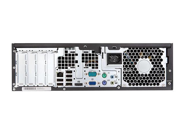 Refurbished: HP Compaq 6200 Pro SFF PC Dual Core Intel G620 2.6GHz 2GB RAM 250GB HDD Windows 7 Pro