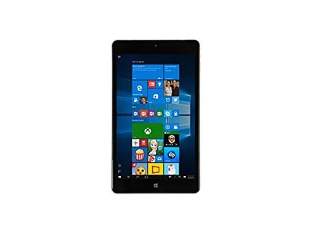 "NUVISION 8.9"" TM890W515L Windows 10, Intel Atom Processor Tablet PC (Black)"