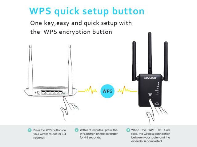 Wavlink 802.11AC 750Mbps Mini WIFI Range Extender Dual Band 2.4GHz 300Mbps 5GHz 433Mbps Wireless Signal Amplifier Booster  Support for Repeater AP and wireless Router Modes 3-IN-1