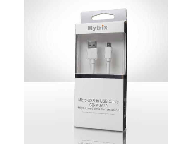 Mytrix Premium Micro-USB to USB Cable High Speed Data Trsanfer Charge for Samsung/Motorola/Nexus/LG/HP/Sony/Microsoft Surface Cell Phone And Tablet