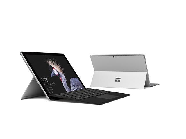 Microsoft Surface Pro ( Platinum, Core M, 4GB, 128GB) with Black Type Cover
