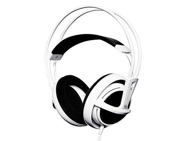 Refurbished: SteelSeries 51000 Siberia Full-Size Headset - Over-the-head - White