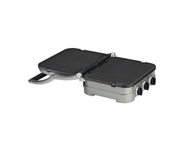 Cuisinart GRID-8 5-in-1 Griddle Contact Counter-top Grill Panini Press Griddle