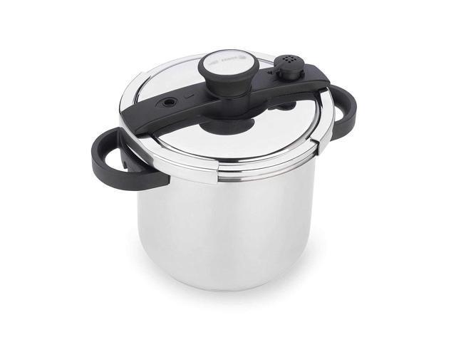 Fagor EzLock 7.4 Quart Stainless Steel Pressure Cooker
