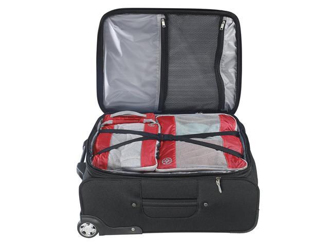 2Pcs Uncharted Ultra-Lite Clothes Storage Packing Cube Travel Luggage Set Cherry