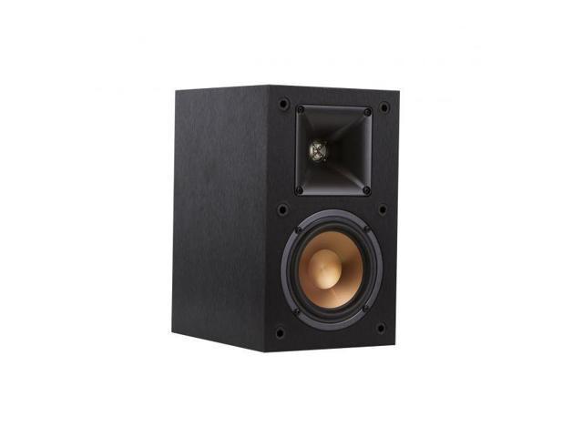 Pair Klipsch Reference Series R 14M 4 Inch Bookshelf Speakers