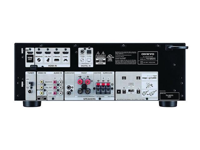 Onkyo TX-SR373 5.2 Channel A/V Receiver