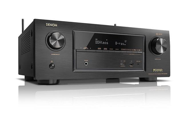 Denon AVR-X3400H 7.2 Channel Full 4K Ultra HD Network 4K Receiver with HEOS