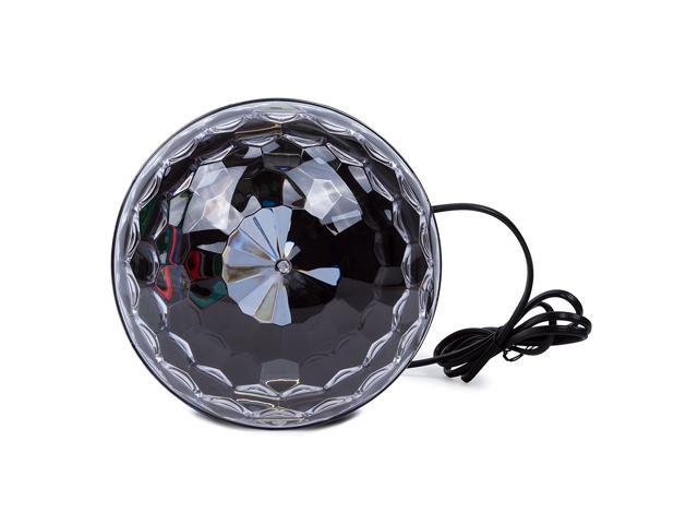 NEK TECH 9- Color Ball  Bluetooth Speaker Crystal Super LED Strobe Bulb , Disco DJ Stage & Studio Special Effects Lighting, RGB Color Changing for Party