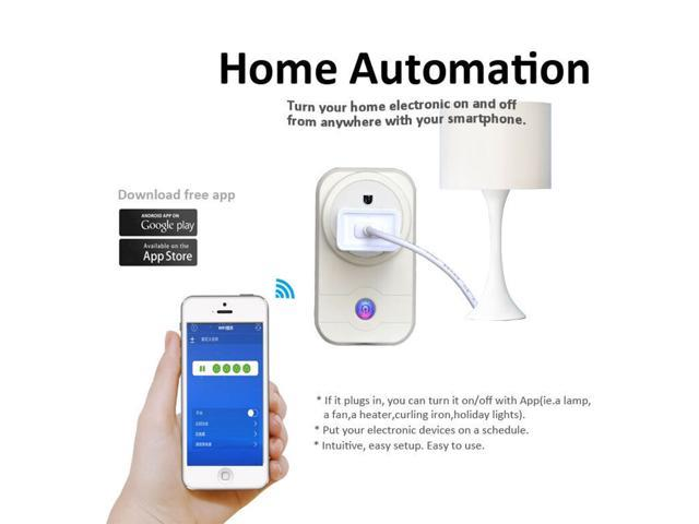 Wifi Smart Socket Safety Protection 750 Degree Automatic Flame Retardant for IOS/Android Timing Smart Home Switch US Plug