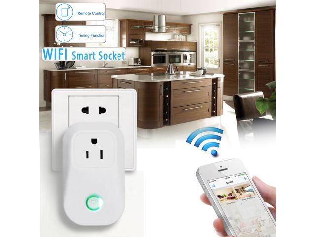 Sonoff 10A 2200W WiFi Wireless Smart Remote Control Timer Switch AC Power Socket Outlet US Plug