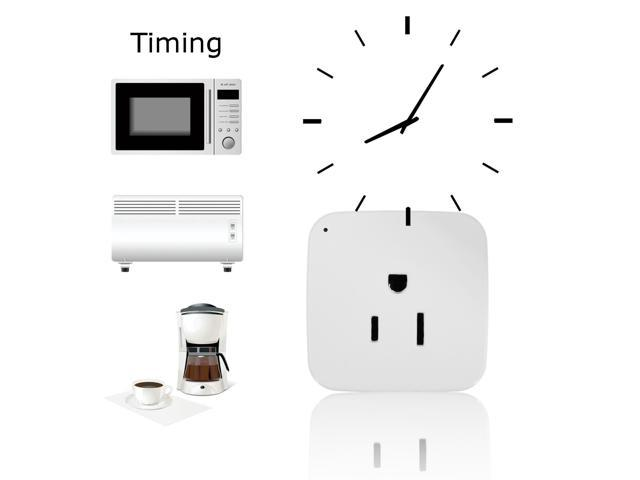 WiFi Smart Phone Remote Control Timer Switch Outlet Power Socket Outlet Plug