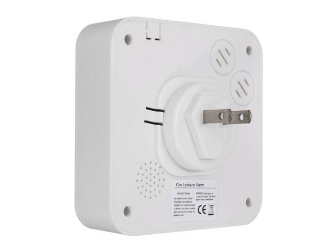 LCD Combustible Gas Voice Leakage Alarm Gas Detector Sensor Siren Sound Alarm