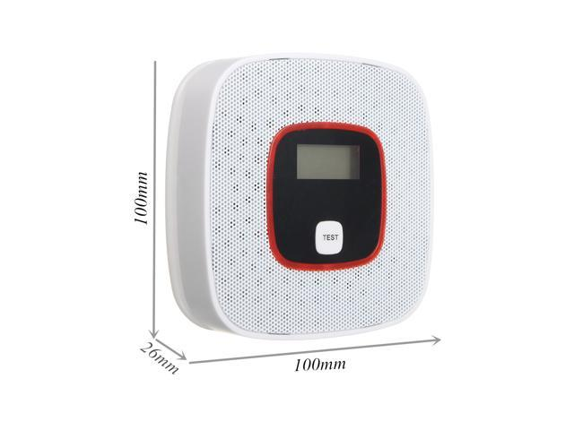 Home LCD CO Carbon Monoxide Alarm Detector Poisoning Gas Voice Warning Sensor