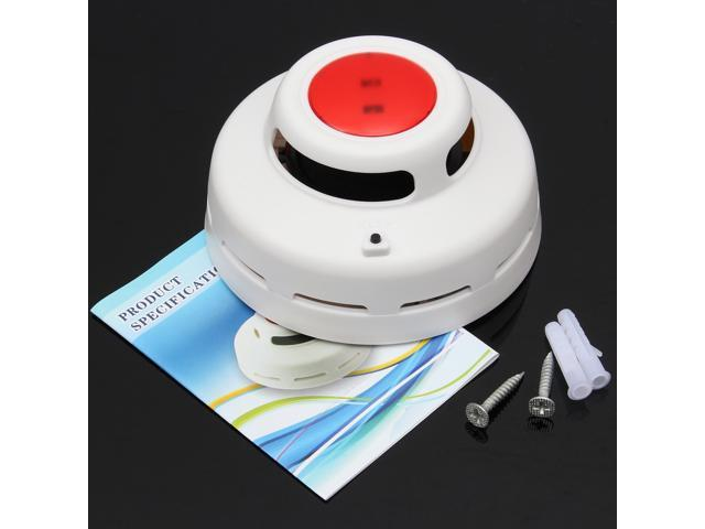 LED Wireless Fire Alarm Smoke Gas Detector Sensor Warning Home Security System