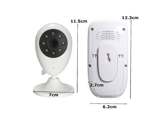 2.4'' Wireless 2.4GHz Digital Video Audio Baby Monitor Home Camera Night Vision