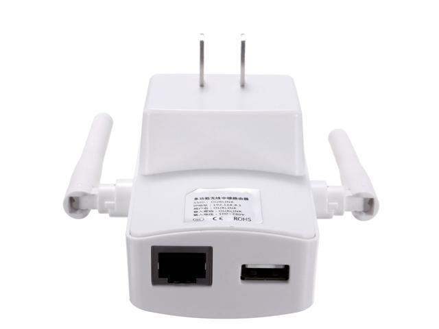300Mbps 110V Wireless WiFi Range Extender Signal Booster Router Repeater Dual Antenna-US STOCK FAST SHIPPING