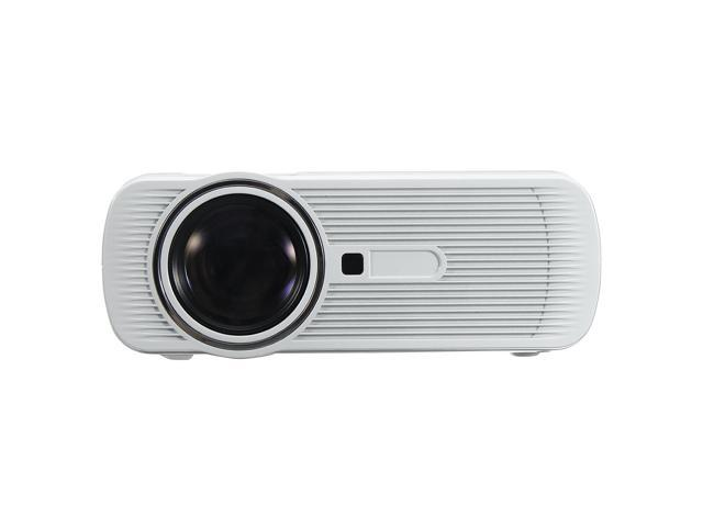 1200 Lumens Mini 3D Home Cinema Theater LED Projector 1080P FHD HDMI USB AV/VGA