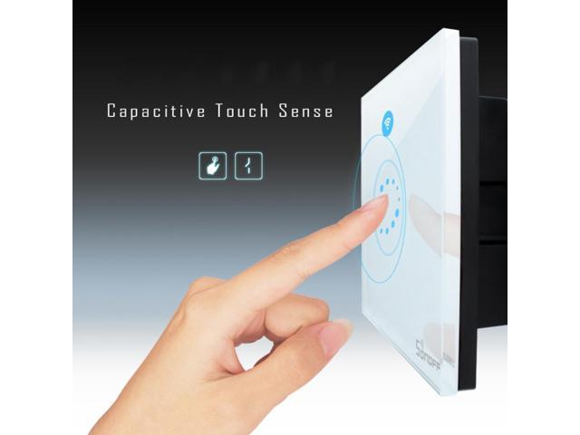 Sonoff WIFI Smart Timer Wall Light Touch Remote Control Wall Switch For Amazon Alexa