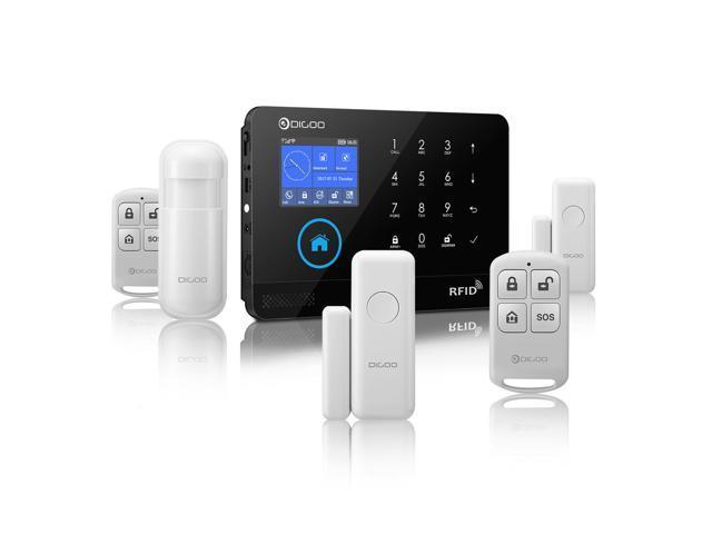 Digoo DG-HOSA 433MHz Wireless Black 3G GSM WIFI DIY Smart Home