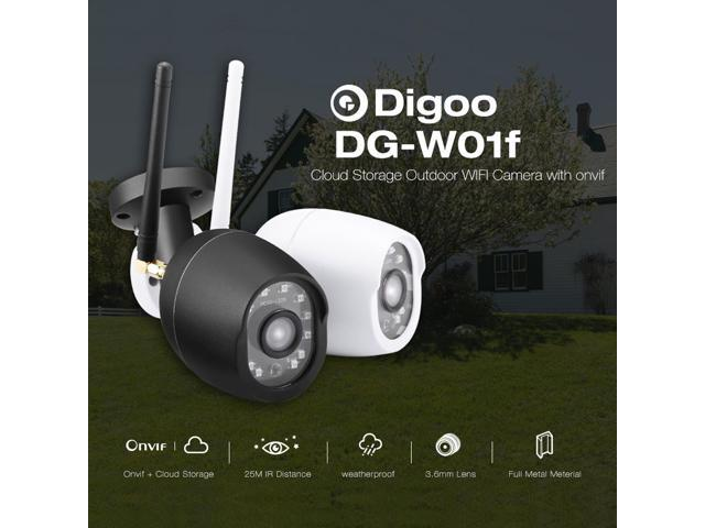 Digoo DG-W01f Cloud Storage 3 6mm Lens 720P Waterproof Outdoor WIFI