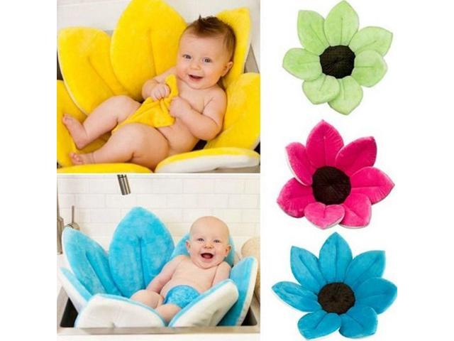 New Baby Bath Tub Flower Tub Basin Sink Bath For Baby Infant Fun Blooming Lotus-US SHIPPING