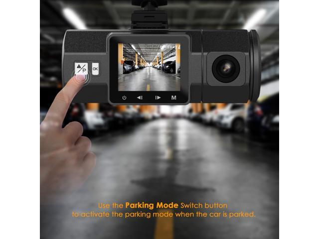 """Vantrue N2 Dual Dash Cam - 1080P FHD +HDR Front and Back Wide Angle Dual Lens In Car 1.5"""" LCD Dashboard Camera DVR Video Recorder with G-Sensor, Parking Mode & Super Night Vision"""
