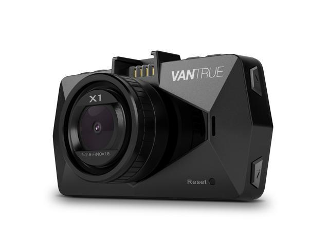 "Vantrue X1 Full HD 1080P Dash Cam 170 Degree Wide Angle 2.7"" LCD In Car Dashboard Camera DVR Video Recorder with G-Sensor, HDR, Parking Mode & Super Night Vision"