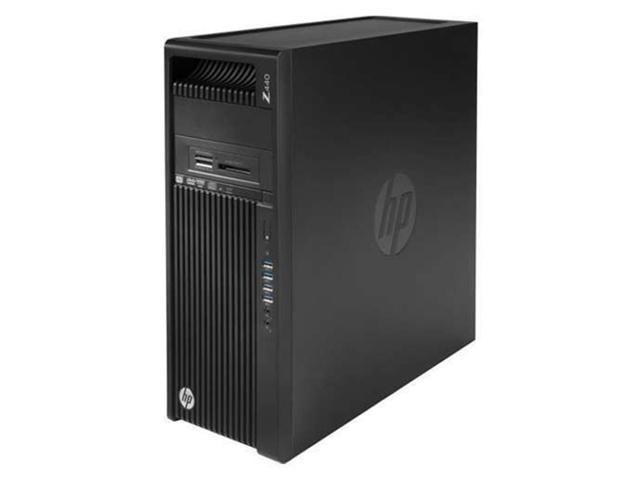 HP Z440 Premium School and Business Tower Workstation Desktop PC (Intel Xeon E5-1603V4 Quad-Core, 32GB RAM, 2TB HDD + 1TB Sata SSD, DVD, Gigabit Ethernet, Win 10 Pro)
