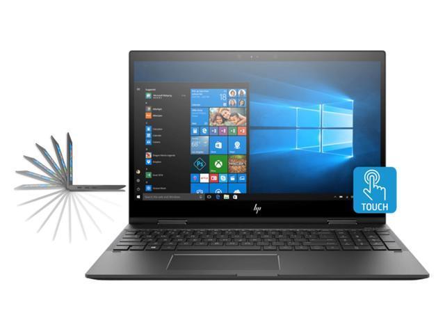 "HP Envy X360 15z Yoga Style 2-in-1 Convertible Laptop (Ryzen 7 2700U Quad-Core Processor, 32GB RAM, 2TB HDD + 1TB Sata SSD, 15.6"" Full HD (1920 x 1080) Touchscreen, Radeon Vega 10, Win 10 Home)"