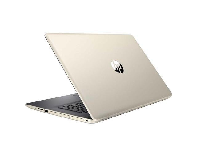 "HP 17.3"" High Performance Touchscreen Laptop in Pale Gold (Intel i5-8250U 4-Core, 16GB RAM, 1TB HDD + 512GB PCIe SSD, 17.3"" HD 1600x900 Touch, AMD Radeon 530, WiFi, Webcam, Microphone, Win 10 Home)"