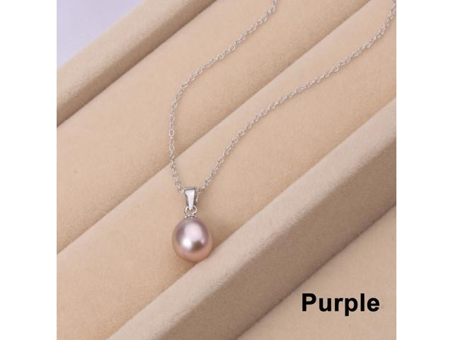 Sterling silver fresh water pearl pendant necklace for women sterling silver fresh water pearl pendant necklace for women shipped from new jersey aloadofball Images