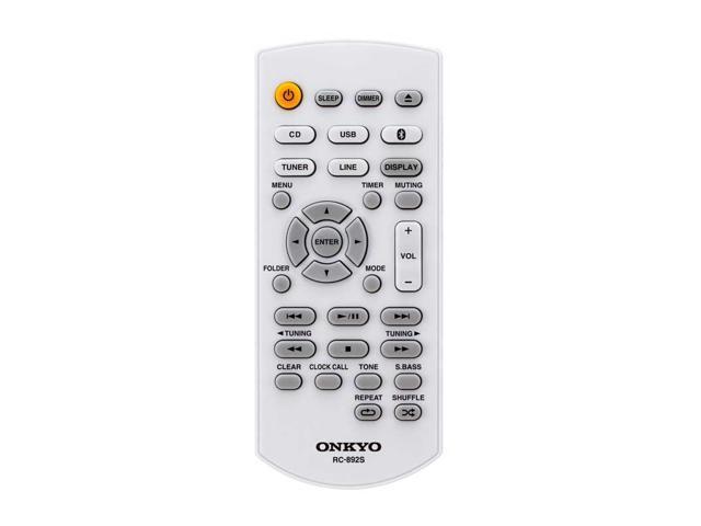 Onkyo CS-265(B) Colibrino CD Hi-Fi Mini System with Bluetooth (Black)