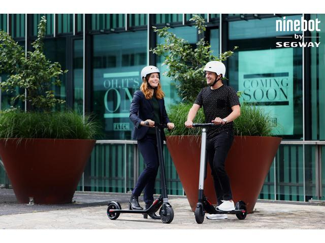 Segway ES1 Kick Scooter - High Performance Foldable Electric Scooter, 12.4 mph, 15.15 mile range - OEM