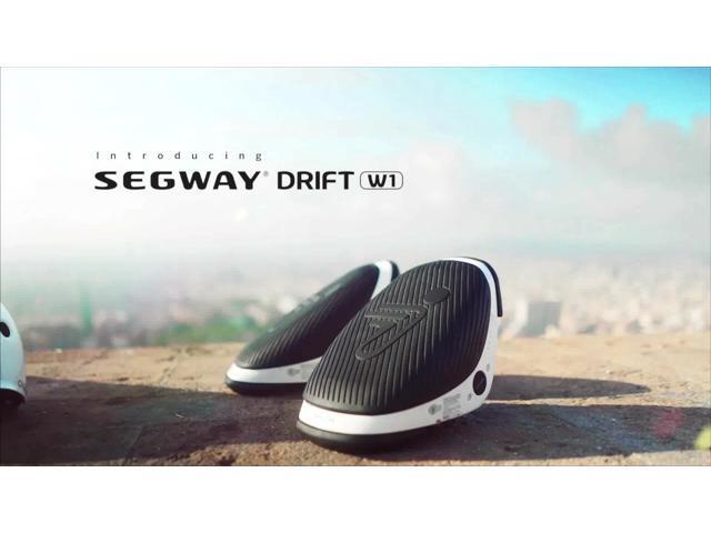 Segway Drift W1 - Portable e-Skate Hovershoes, up to 7.5 mph, 5.5 mile range