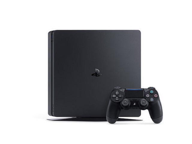 Refurbished: Sony PlayStation 4 Slim 3002189 1TB Gaming Console - Wi-Fi,Bluetooth - Jet Black