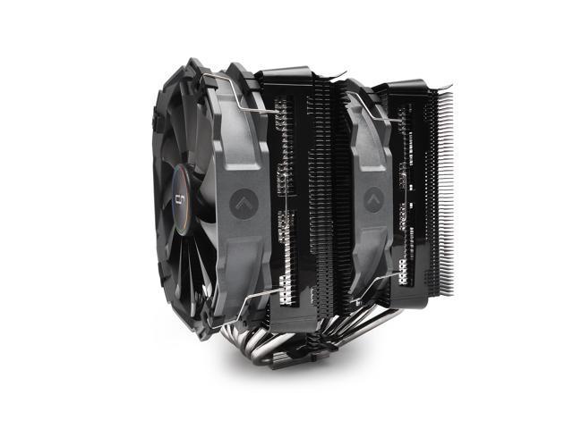 CRYORIG R1 Ultimate Dual Tower Heatsink for AMD/Intel CPU - Black