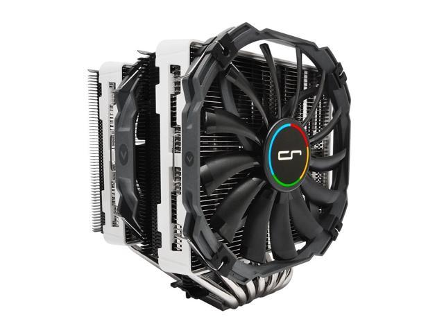 CRYORIG R1 Universal Dual Tower Heatsink for AMD/Intel CPU - White