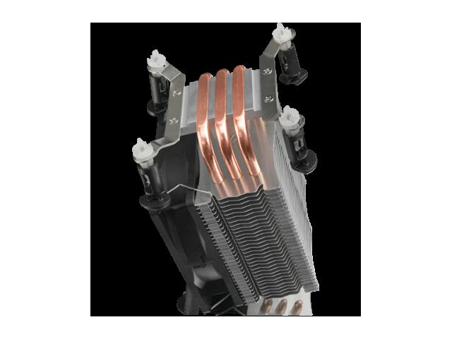 RAIJINTEK RHEA, 3pcs 6mm Heat-Pipe, 9225 PWM Fan, Compatible with Intel LGA 115x & AMD AM2/AM3 CPU, Easy installation & User Friendly, Light Weight and 130 mm Height for Most Desktop System