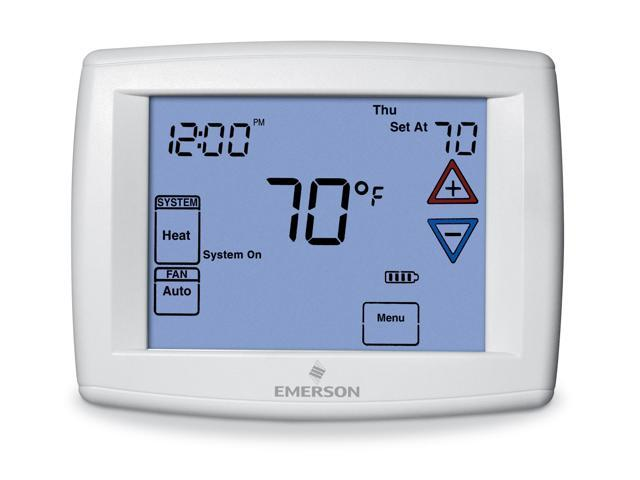 Emerson Big Blue Universal Touchscreen Programmable Thermostat 1F95-1277