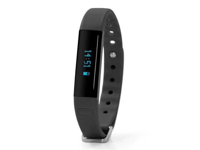 Nuband Ladies Slim Black Activ 2+ Activity and Sleep Tracking Band Apple and Android App Compatible