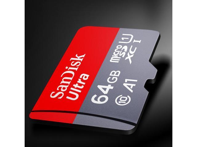 SanDisk Ultra microSDHC/SDXC UHS-I High Speed 100MB/S Class 10 SD Memory Card - 64GB