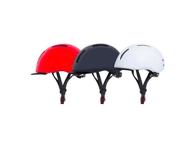 Original Xiaomi Mijia Qicycle Safety Helmet EPS Material Adjustable Ventilation Design - Black