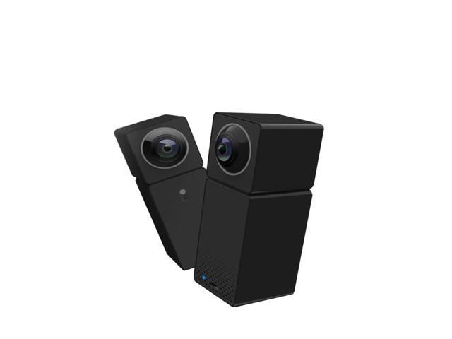Xiaomi Hualai Xiaofang Smart WiFi IP Camera Two-way Audio Night Vision Dual CMOS - Black