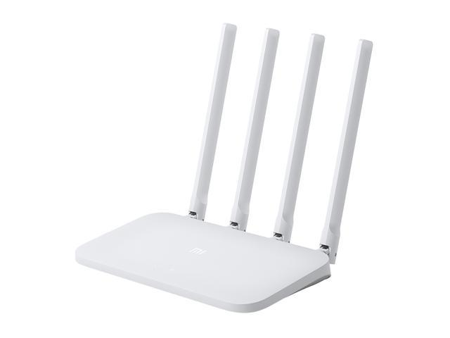 Xiaomi Mi WiFi Router 4C 2.4GHz Smart Mini WiFi Repeater 4 Antennas 802.11n 300Mbps Support iOS / Android - White