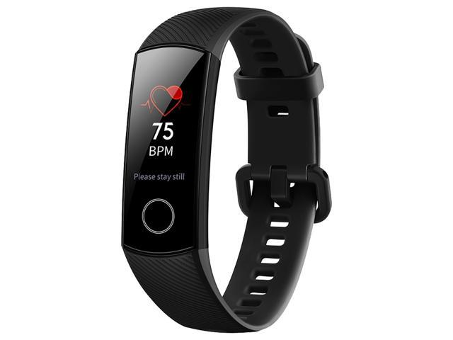 HUAWEI Honor Band 4 Smart Bracelet 0.95 Inch AMOLED Touch Large Color Screen 5ATM Heart Rate Monitor - Black