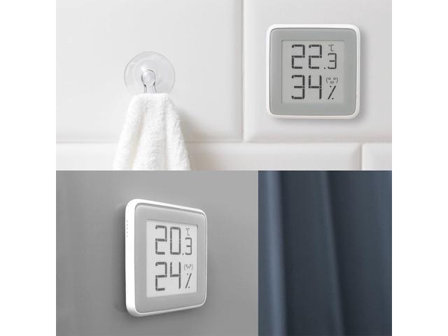 Xiaomi Miaomiaoce Temperature Humidity Thermometer E-Link INK Screen Dispay Digital Moisture Meter High-Precision -White