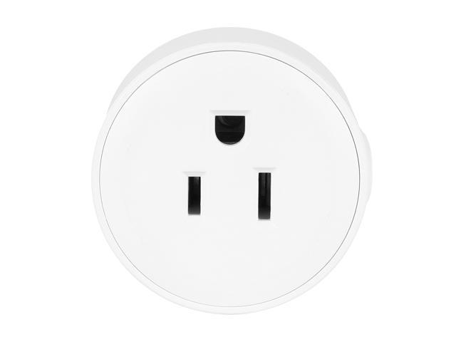 4-Pack Geekbes S07 Smart Socket WiFi Mini Plug APP Remote Control Timing Socket Works with Alexa White